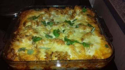 Baked Fusilli recipe