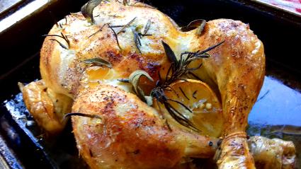 Lemon, Rosemary and Garlic Chicken