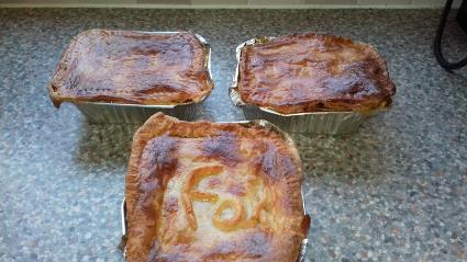 Lentil and Leek Pie