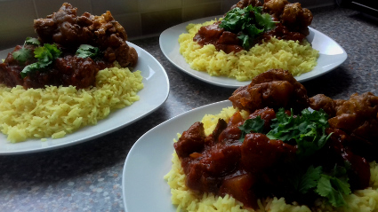 Unconventional Pork Shoulder Curry