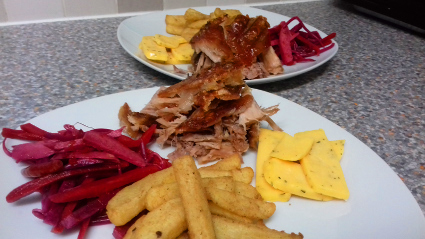Pulled Pork Ploughman's