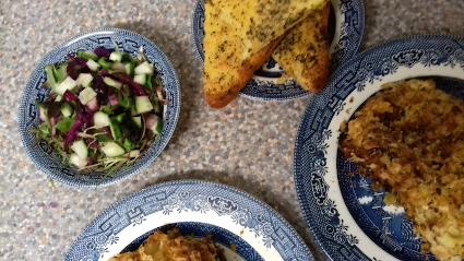 Chicken, Cauliflower, Broccoli Pasta Bake