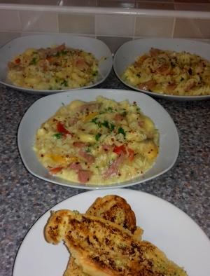 Salami Pasta recipe