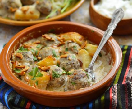 Kofta bi Tahini recipe, eat well on universal credit