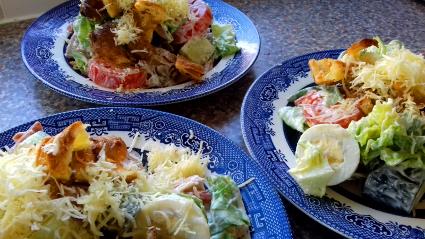 Cold Turkey Drummer Salad recipe